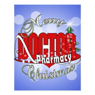 CHRISTMAS DR DOCTOR PHARMACY CUSTOMIZED LETTERHEAD
