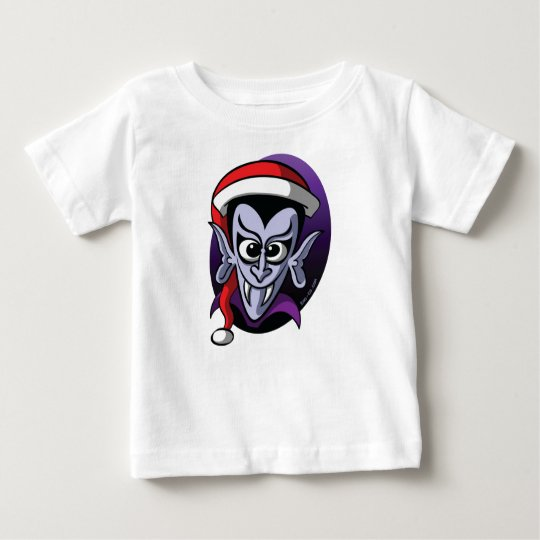 Christmas Dracula Baby T-Shirt
