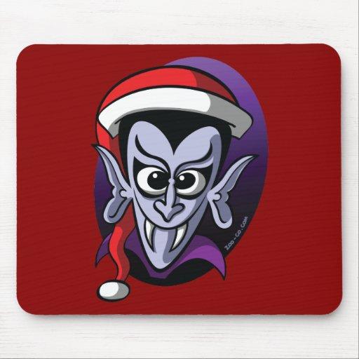 Christmas Dracula Mouse Pad