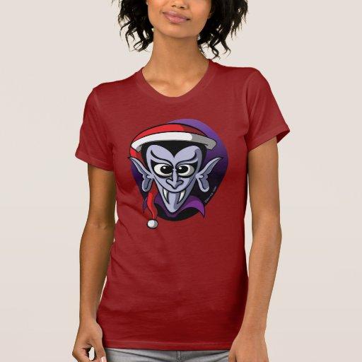 Christmas Dracula T-shirts
