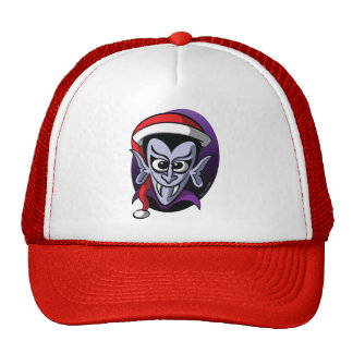 Christmas Dracula Trucker Hat