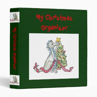 Christmas Dragon Binder