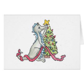 Christmas Dragon Greeting Cards