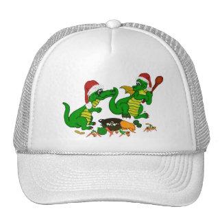 Christmas Dragon - today i quiere cook Gorros Bordados