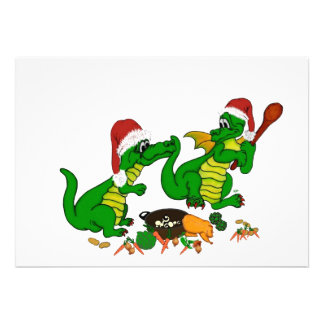 Christmas Dragons - today I wants cook Custom Invite