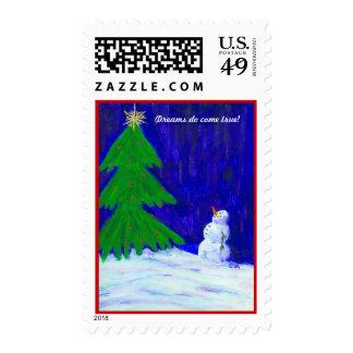 Christmas, Dreams do come true! Postage