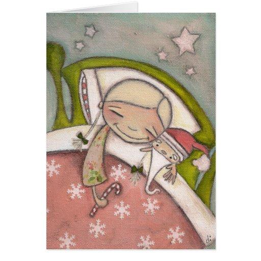Christmas Dreams - Greeting Card