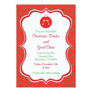 annual family christmas invitations zazzle
