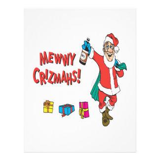 Christmas Drunk Custom Flyer