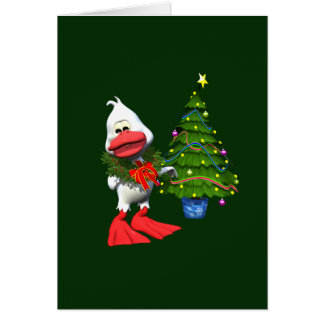 Christmas Duck Greeting Cards