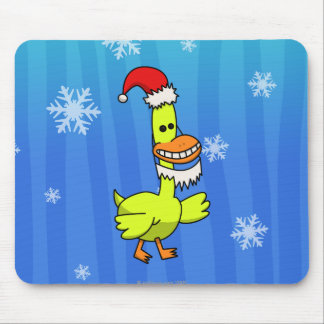 Christmas Duck Mouse Pad