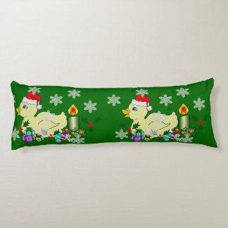 Christmas Duckie Body Pillow