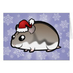 Christmas Dwarf Hamster Card