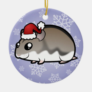 Christmas Dwarf Hamster Christmas Tree Ornaments