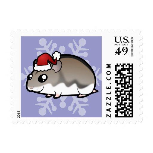 Christmas Dwarf Hamster Postage