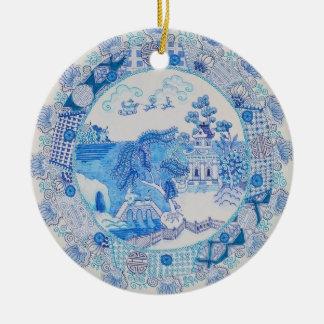 """Christmas Dystopia"" Ornament by Rhonda Stewart"
