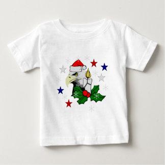 Christmas Eagle Baby T-Shirt