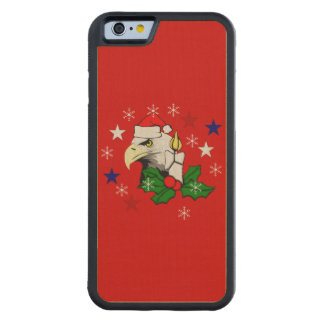 Christmas Eagle Carved® Maple iPhone 6 Bumper Case