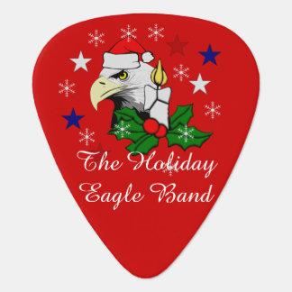 Christmas Eagle Guitar Pick