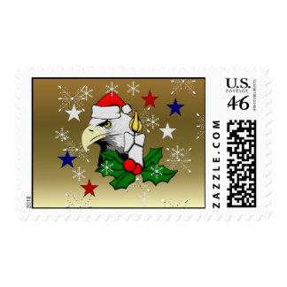 Christmas Eagle Postage