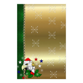 Christmas Eagle Stationery Design