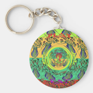 Christmas Eat Love Play Hakuna Matata Color.png Keychain