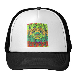 Christmas Eat Love Play Hakuna Matata Color.png Trucker Hat
