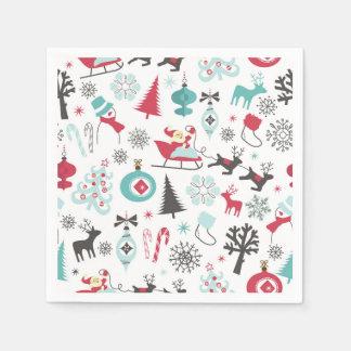 Christmas Elements Napkin