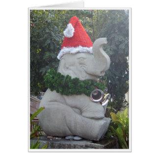 Christmas Elephant Greeting Cards