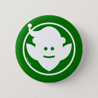Christmas Elf Avatar Pinback Button