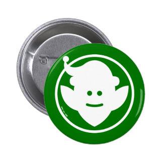 Christmas Elf Avatar Pinback Buttons