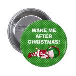 Christmas Elf Button