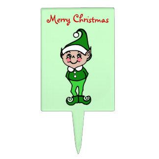 Christmas Elf Cake Topper