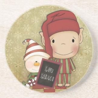 Christmas Elf Coaster