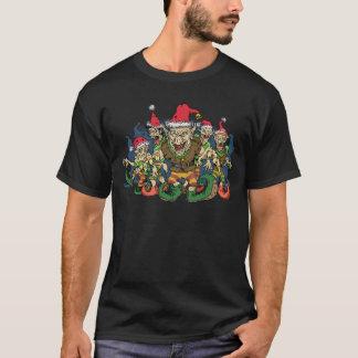 Christmas Elf Design T-Shirt