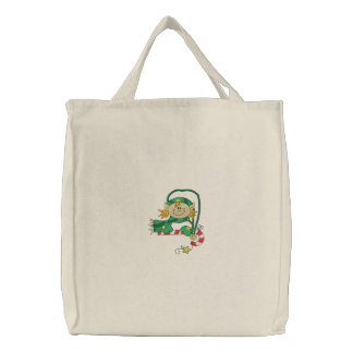 Christmas Elf Canvas Bag