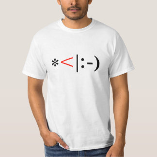 Christmas Elf Emoticon T-Shirt