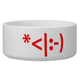 Christmas Elf Emoticon Xmas ASCII Text Art Bowl