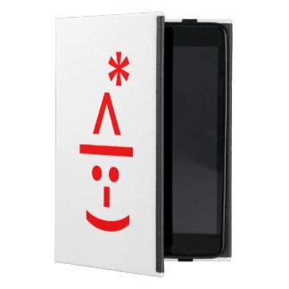 Christmas Elf Emoticon Xmas ASCII Text Art Case For iPad Mini