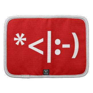 Christmas Elf Emoticon Xmas ASCII Text Art Folio Planners
