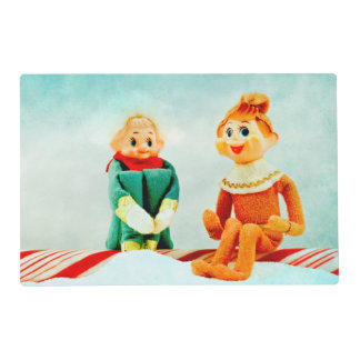 Christmas Elf First Date & Belle the Pixie Elf Placemat