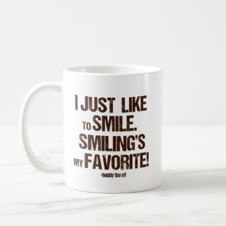 "Christmas ELf - ""I Just Like..."" Coffee Mug"