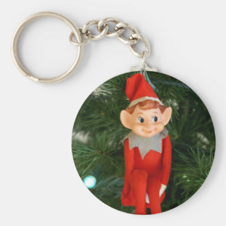 Christmas Elf Keychain