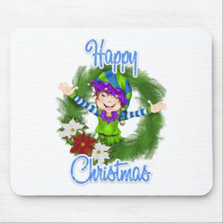 Christmas Elf Mousepad
