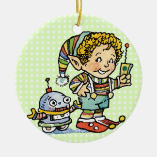 Christmas Elf Ornament