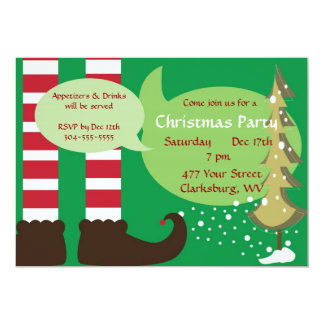 Christmas Elf Party Announcement