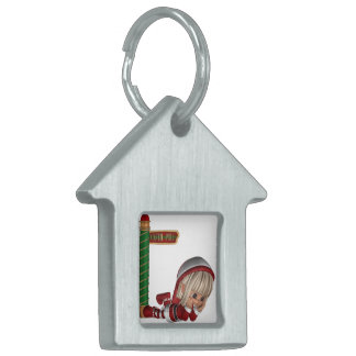 Christmas Elf Pet Tag