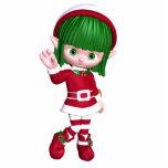 Christmas Elf Photo Sculpture