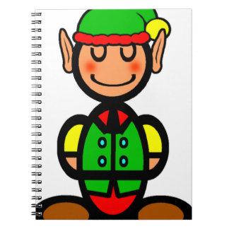 Christmas Elf (plain) Notebook