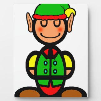 Christmas Elf (plain) Plaque